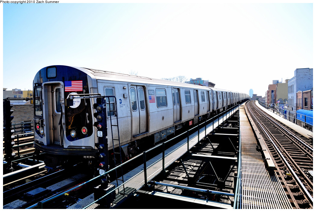 (285k, 1044x700)<br><b>Country:</b> United States<br><b>City:</b> New York<br><b>System:</b> New York City Transit<br><b>Line:</b> BMT Astoria Line<br><b>Location:</b> Astoria Boulevard/Hoyt Avenue <br><b>Route:</b> Layup<br><b>Car:</b> R-160B (Option 1) (Kawasaki, 2008-2009)  9082 <br><b>Photo by:</b> Zach Summer<br><b>Date:</b> 3/7/2010<br><b>Viewed (this week/total):</b> 0 / 1159