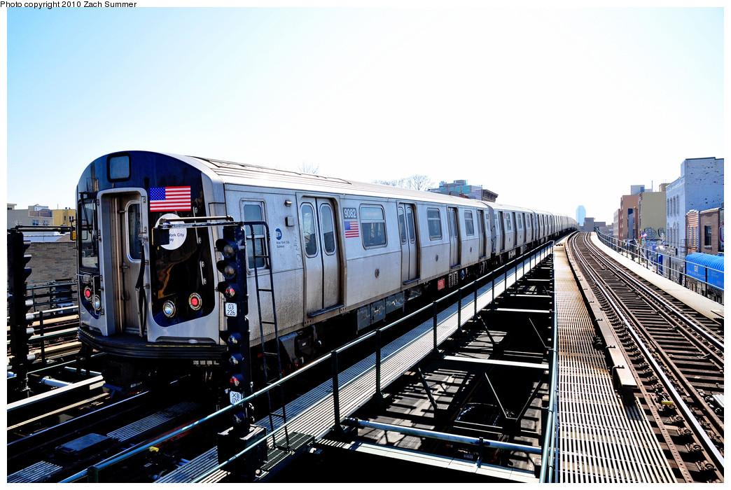 (285k, 1044x700)<br><b>Country:</b> United States<br><b>City:</b> New York<br><b>System:</b> New York City Transit<br><b>Line:</b> BMT Astoria Line<br><b>Location:</b> Astoria Boulevard/Hoyt Avenue <br><b>Route:</b> Layup<br><b>Car:</b> R-160B (Option 1) (Kawasaki, 2008-2009)  9082 <br><b>Photo by:</b> Zach Summer<br><b>Date:</b> 3/7/2010<br><b>Viewed (this week/total):</b> 4 / 1219