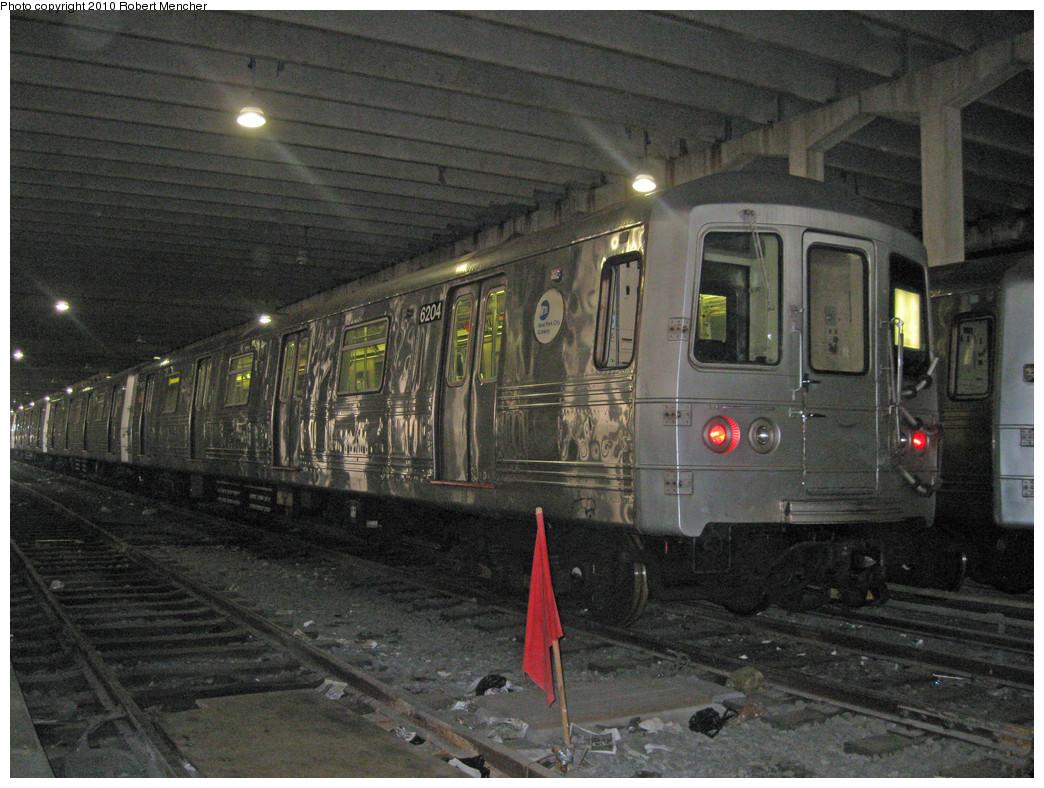 (304k, 1044x788)<br><b>Country:</b> United States<br><b>City:</b> New York<br><b>System:</b> New York City Transit<br><b>Location:</b> Pitkin Yard/Shops<br><b>Car:</b> R-46 (Pullman-Standard, 1974-75) 6204 <br><b>Photo by:</b> Robert Mencher<br><b>Date:</b> 3/31/2010<br><b>Viewed (this week/total):</b> 0 / 915