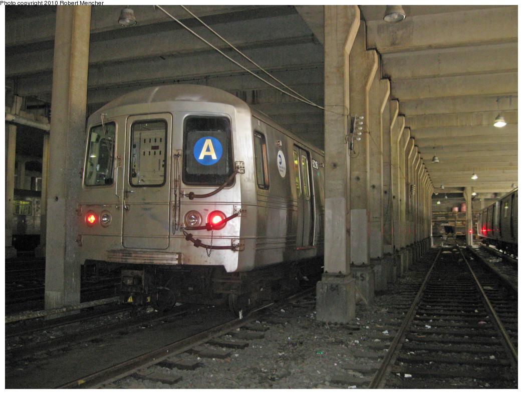 (302k, 1044x788)<br><b>Country:</b> United States<br><b>City:</b> New York<br><b>System:</b> New York City Transit<br><b>Location:</b> Pitkin Yard/Shops<br><b>Car:</b> R-46 (Pullman-Standard, 1974-75) 6216 <br><b>Photo by:</b> Robert Mencher<br><b>Date:</b> 3/31/2010<br><b>Viewed (this week/total):</b> 1 / 1540