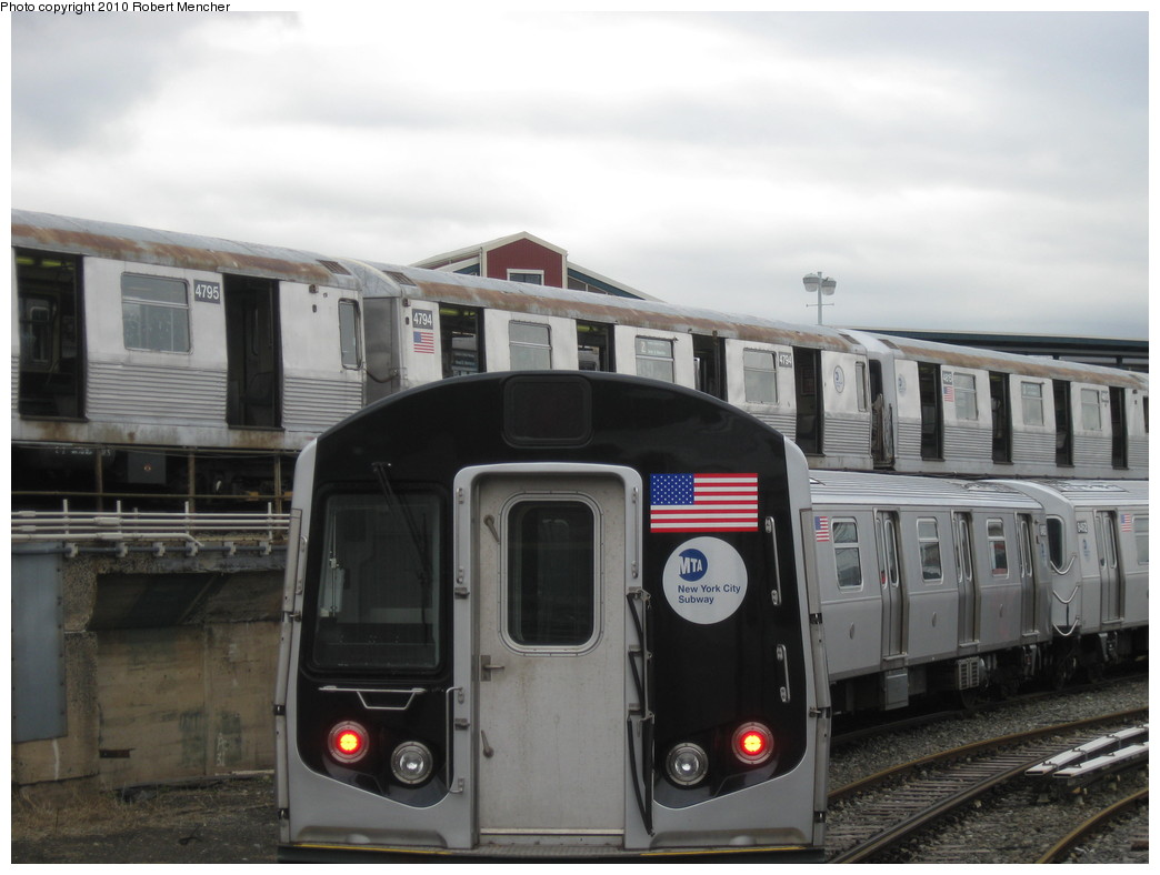 (163k, 1044x788)<br><b>Country:</b> United States<br><b>City:</b> New York<br><b>System:</b> New York City Transit<br><b>Location:</b> East New York Yard/Shops<br><b>Car:</b> R-42 (St. Louis, 1969-1970)  4794 <br><b>Photo by:</b> Robert Mencher<br><b>Date:</b> 3/31/2010<br><b>Viewed (this week/total):</b> 2 / 893