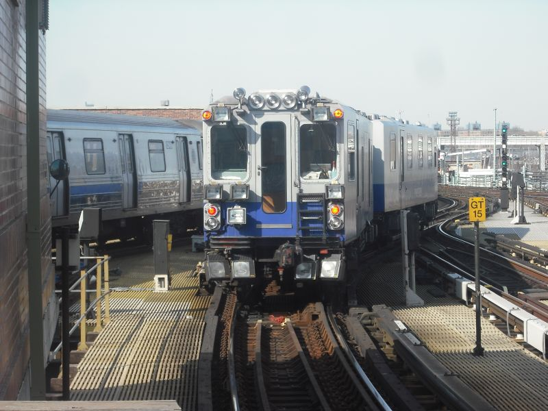 (92k, 800x600)<br><b>Country:</b> United States<br><b>City:</b> New York<br><b>System:</b> New York City Transit<br><b>Location:</b> Coney Island/Stillwell Avenue<br><b>Route:</b> Work Service<br><b>Car:</b> Track Geometry Car  <br><b>Photo by:</b> Alize Jarrett<br><b>Date:</b> 3/19/2010<br><b>Viewed (this week/total):</b> 0 / 2057