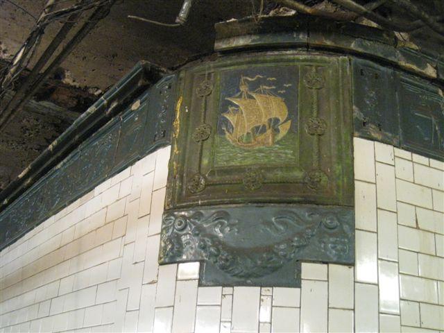 (58k, 640x480)<br><b>Country:</b> United States<br><b>City:</b> New York<br><b>System:</b> New York City Transit<br><b>Line:</b> IRT West Side Line<br><b>Location:</b> 59th Street/Columbus Circle <br><b>Photo by:</b> David Blair<br><b>Date:</b> 4/25/2007<br><b>Notes:</b> Downtown platform renovations.<br><b>Viewed (this week/total):</b> 0 / 616