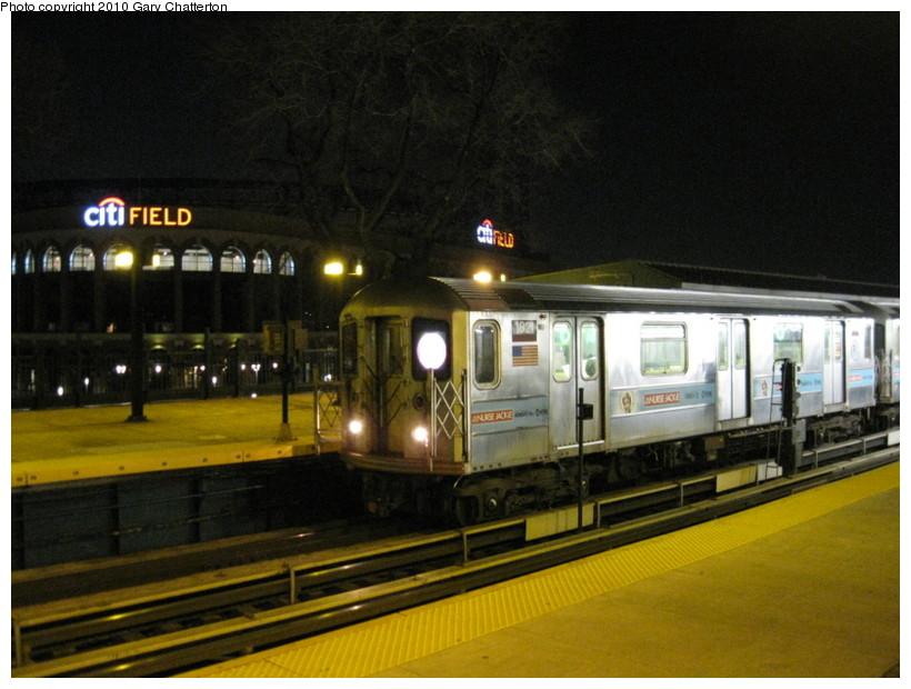 (131k, 820x620)<br><b>Country:</b> United States<br><b>City:</b> New York<br><b>System:</b> New York City Transit<br><b>Line:</b> IRT Flushing Line<br><b>Location:</b> Willets Point/Mets (fmr. Shea Stadium) <br><b>Route:</b> 7<br><b>Car:</b> R-62A (Bombardier, 1984-1987)  1821 <br><b>Photo by:</b> Gary Chatterton<br><b>Date:</b> 3/21/2010<br><b>Viewed (this week/total):</b> 1 / 1188