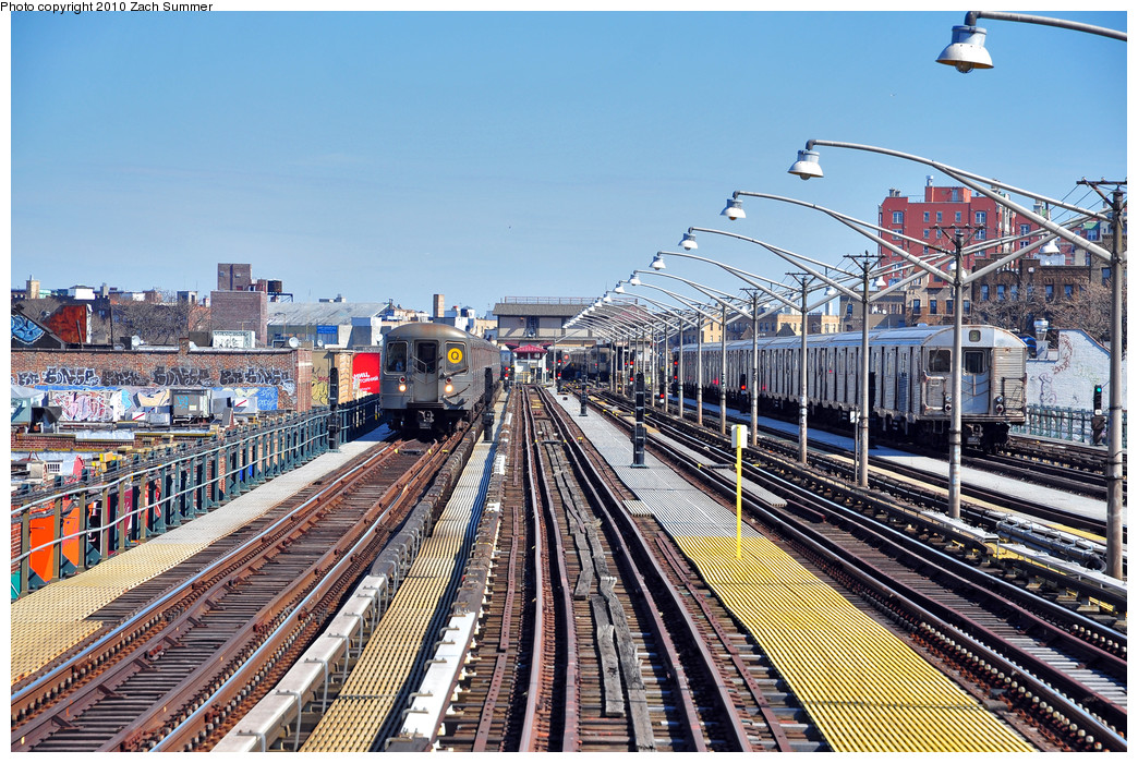 (378k, 1044x700)<br><b>Country:</b> United States<br><b>City:</b> New York<br><b>System:</b> New York City Transit<br><b>Line:</b> BMT Brighton Line<br><b>Location:</b> Ocean Parkway <br><b>Route:</b> Q<br><b>Car:</b> R-68A (Kawasaki, 1988-1989)  5132 <br><b>Photo by:</b> Zach Summer<br><b>Date:</b> 3/9/2010<br><b>Notes:</b> With an R32 B Layup<br><b>Viewed (this week/total):</b> 0 / 1314