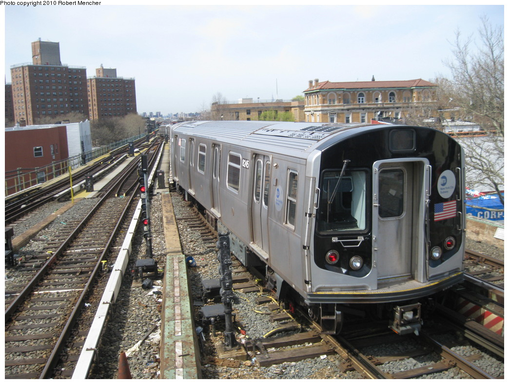 (267k, 1044x788)<br><b>Country:</b> United States<br><b>City:</b> New York<br><b>System:</b> New York City Transit<br><b>Line:</b> BMT Nassau Street/Jamaica Line<br><b>Location:</b> Broadway/East New York (Broadway Junction) <br><b>Car:</b> R-143 (Kawasaki, 2001-2002) 8245 <br><b>Photo by:</b> Robert Mencher<br><b>Date:</b> 4/3/2010<br><b>Viewed (this week/total):</b> 0 / 968