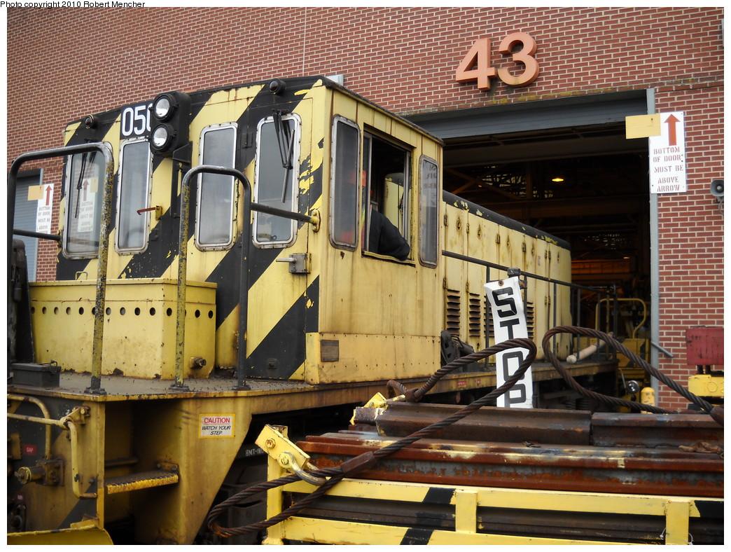 (335k, 1044x788)<br><b>Country:</b> United States<br><b>City:</b> New York<br><b>System:</b> New York City Transit<br><b>Location:</b> Coney Island Yard<br><b>Car:</b> R-37 Locomotive  50 <br><b>Photo by:</b> Robert Mencher<br><b>Date:</b> 4/16/2010<br><b>Viewed (this week/total):</b> 0 / 524