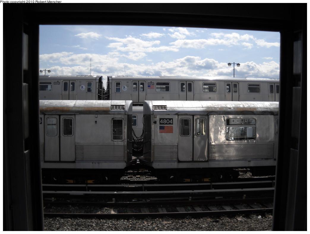 (189k, 1044x788)<br><b>Country:</b> United States<br><b>City:</b> New York<br><b>System:</b> New York City Transit<br><b>Location:</b> East New York Yard/Shops<br><b>Car:</b> R-42 (St. Louis, 1969-1970)  4804 <br><b>Photo by:</b> Robert Mencher<br><b>Date:</b> 4/20/2010<br><b>Viewed (this week/total):</b> 0 / 729