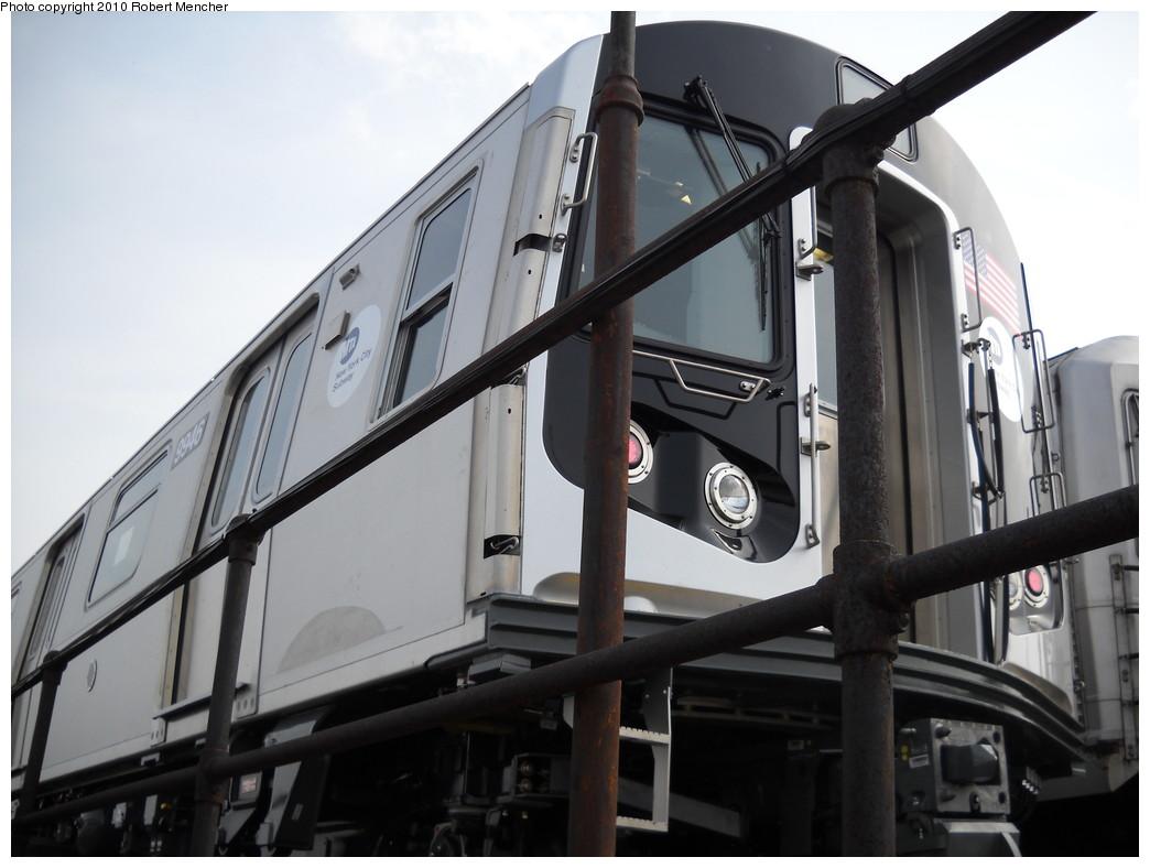 (194k, 1044x788)<br><b>Country:</b> United States<br><b>City:</b> New York<br><b>System:</b> New York City Transit<br><b>Location:</b> East New York Yard/Shops<br><b>Car:</b> R-160A (Option 2) (Alstom, 2009, 4-car sets)  9946 <br><b>Photo by:</b> Robert Mencher<br><b>Date:</b> 4/21/2010<br><b>Viewed (this week/total):</b> 4 / 867