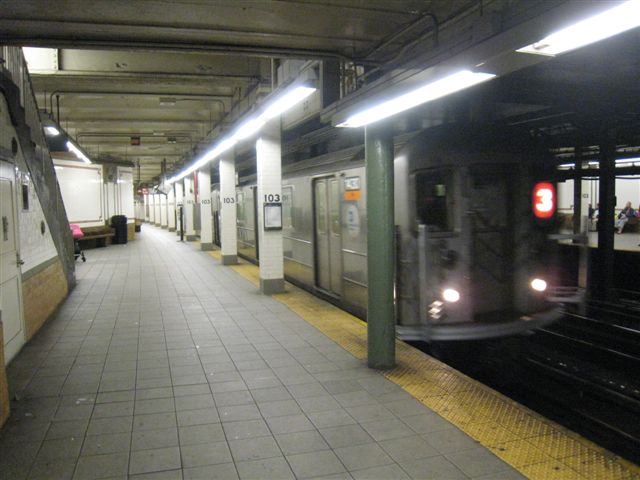 (54k, 640x480)<br><b>Country:</b> United States<br><b>City:</b> New York<br><b>System:</b> New York City Transit<br><b>Line:</b> IRT West Side Line<br><b>Location:</b> 103rd Street <br><b>Photo by:</b> David Blair<br><b>Date:</b> 4/1/2008<br><b>Viewed (this week/total):</b> 4 / 1363