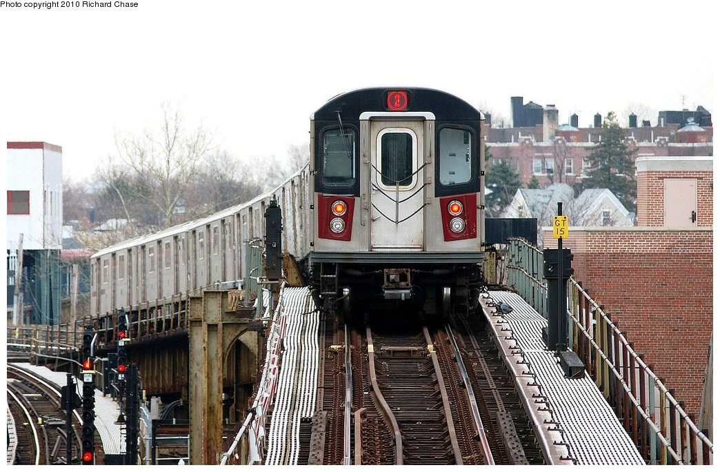 (240k, 1044x684)<br><b>Country:</b> United States<br><b>City:</b> New York<br><b>System:</b> New York City Transit<br><b>Line:</b> IRT White Plains Road Line<br><b>Location:</b> 238th Street (Nereid Avenue) <br><b>Route:</b> 2<br><b>Car:</b> R-142 or R-142A (Number Unknown)  <br><b>Photo by:</b> Richard Chase<br><b>Date:</b> 3/25/2010<br><b>Viewed (this week/total):</b> 1 / 1374