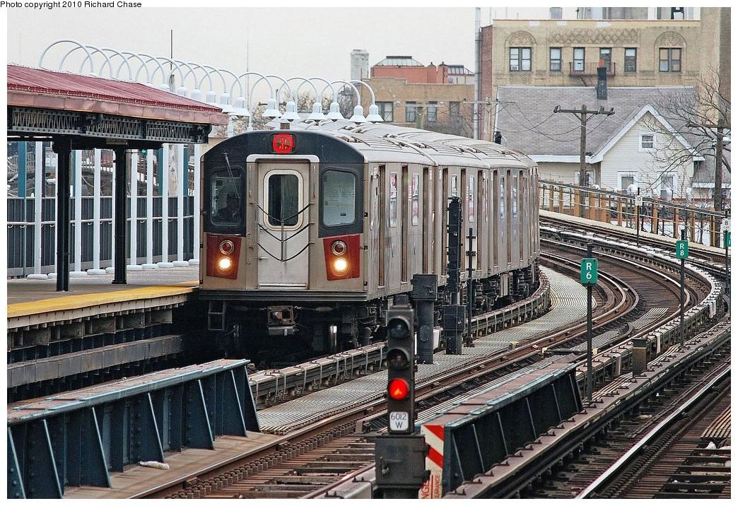 (328k, 1044x716)<br><b>Country:</b> United States<br><b>City:</b> New York<br><b>System:</b> New York City Transit<br><b>Line:</b> IRT White Plains Road Line<br><b>Location:</b> 238th Street (Nereid Avenue) <br><b>Route:</b> 2<br><b>Car:</b> R-142 or R-142A (Number Unknown)  <br><b>Photo by:</b> Richard Chase<br><b>Date:</b> 3/25/2010<br><b>Viewed (this week/total):</b> 2 / 1227