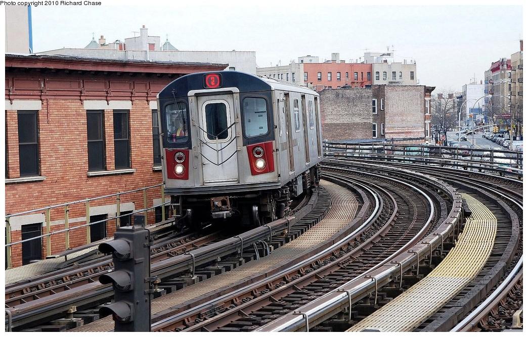 (293k, 1044x667)<br><b>Country:</b> United States<br><b>City:</b> New York<br><b>System:</b> New York City Transit<br><b>Line:</b> IRT White Plains Road Line<br><b>Location:</b> Simpson Street <br><b>Route:</b> 2<br><b>Car:</b> R-142 (Primary Order, Bombardier, 1999-2002)  6440 <br><b>Photo by:</b> Richard Chase<br><b>Date:</b> 3/25/2010<br><b>Viewed (this week/total):</b> 2 / 1336