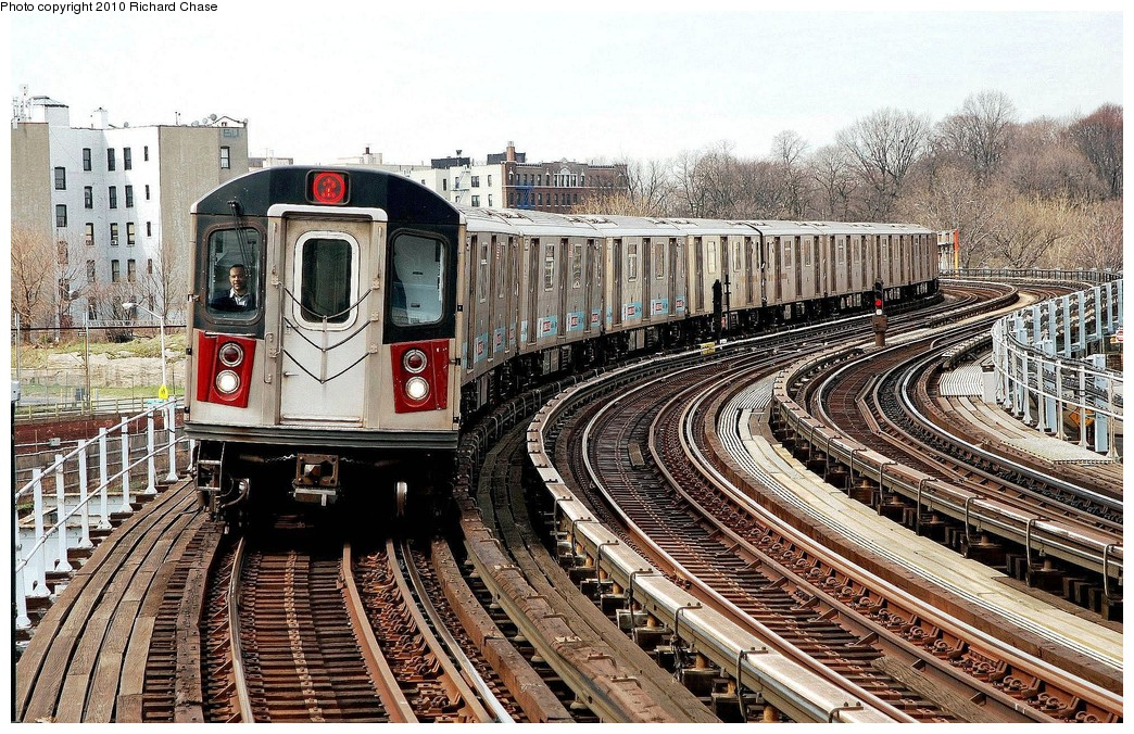 (309k, 1044x676)<br><b>Country:</b> United States<br><b>City:</b> New York<br><b>System:</b> New York City Transit<br><b>Line:</b> IRT White Plains Road Line<br><b>Location:</b> West Farms Sq./East Tremont Ave./177th St. <br><b>Route:</b> 2<br><b>Car:</b> R-142 or R-142A (Number Unknown)  <br><b>Photo by:</b> Richard Chase<br><b>Date:</b> 3/25/2010<br><b>Viewed (this week/total):</b> 0 / 1186