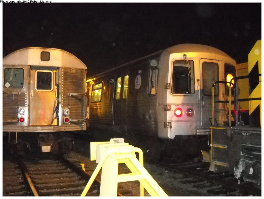(235k, 1044x788)<br><b>Country:</b> United States<br><b>City:</b> New York<br><b>System:</b> New York City Transit<br><b>Location:</b> Jamaica Yard/Shops<br><b>Car:</b> R-46 (Pullman-Standard, 1974-75) 5654 <br><b>Photo by:</b> Robert Mencher<br><b>Date:</b> 4/30/2010<br><b>Viewed (this week/total):</b> 0 / 1314