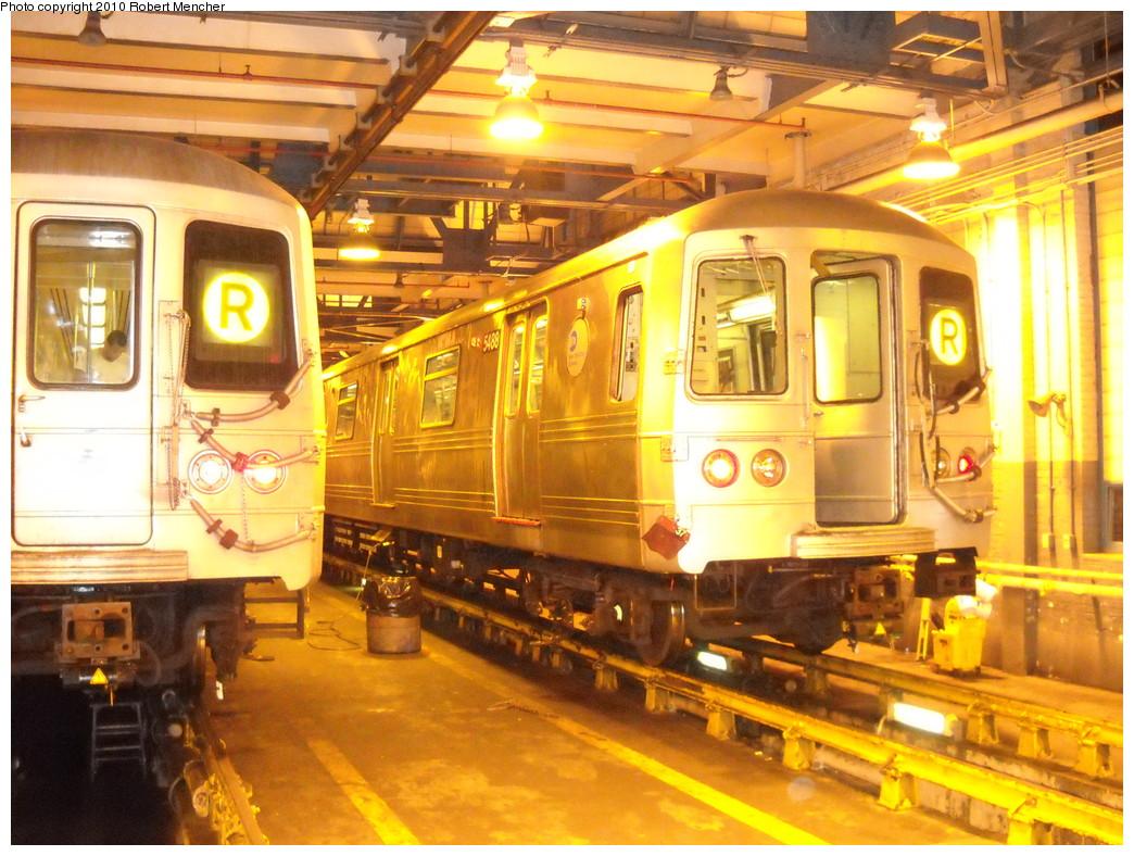 (295k, 1044x788)<br><b>Country:</b> United States<br><b>City:</b> New York<br><b>System:</b> New York City Transit<br><b>Location:</b> Jamaica Yard/Shops<br><b>Car:</b> R-46 (Pullman-Standard, 1974-75) 5488 <br><b>Photo by:</b> Robert Mencher<br><b>Date:</b> 4/30/2010<br><b>Viewed (this week/total):</b> 3 / 974