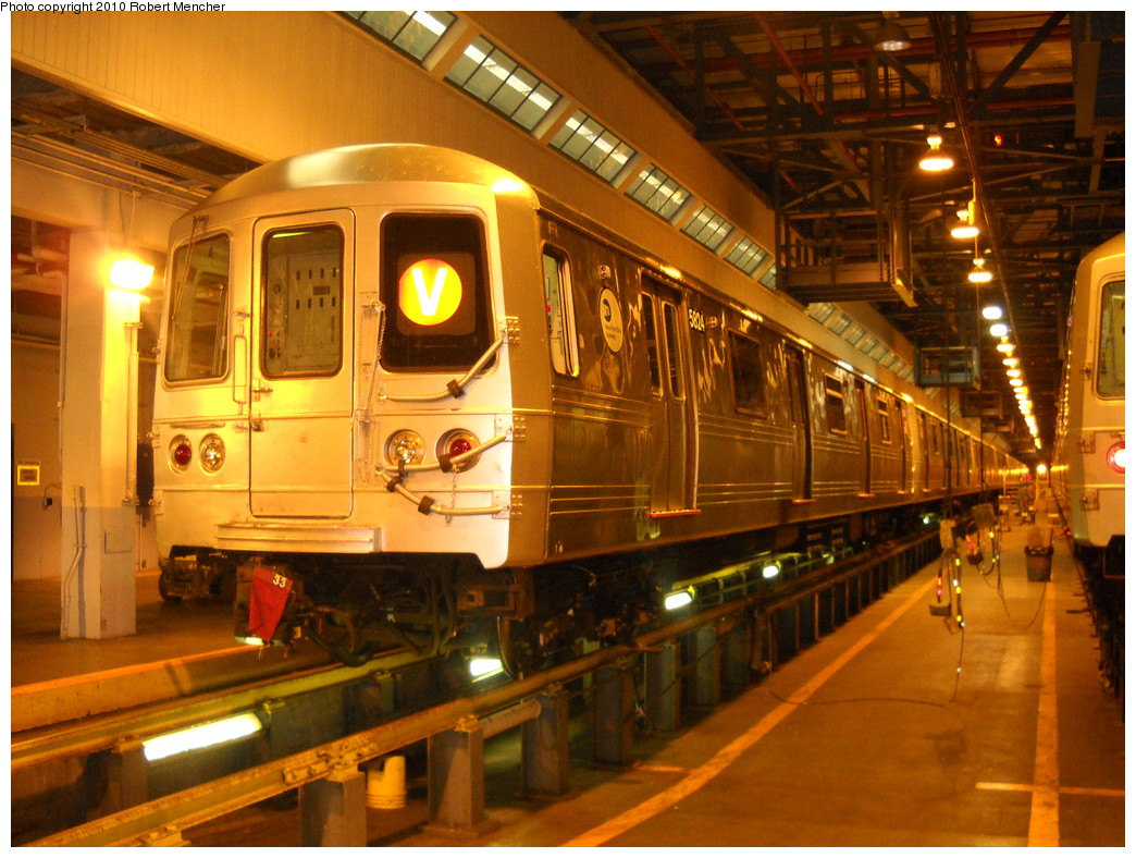(281k, 1044x788)<br><b>Country:</b> United States<br><b>City:</b> New York<br><b>System:</b> New York City Transit<br><b>Location:</b> Jamaica Yard/Shops<br><b>Car:</b> R-46 (Pullman-Standard, 1974-75) 5824 <br><b>Photo by:</b> Robert Mencher<br><b>Date:</b> 4/30/2010<br><b>Viewed (this week/total):</b> 1 / 1134