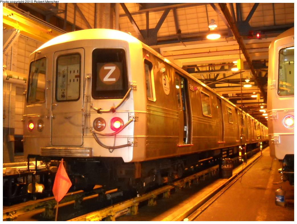 (276k, 1044x788)<br><b>Country:</b> United States<br><b>City:</b> New York<br><b>System:</b> New York City Transit<br><b>Location:</b> Jamaica Yard/Shops<br><b>Car:</b> R-46 (Pullman-Standard, 1974-75) 5616 <br><b>Photo by:</b> Robert Mencher<br><b>Date:</b> 4/30/2010<br><b>Viewed (this week/total):</b> 5 / 1707