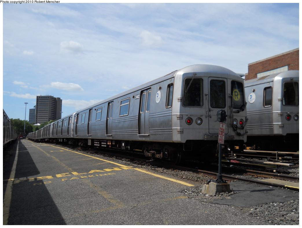 (260k, 1044x788)<br><b>Country:</b> United States<br><b>City:</b> New York<br><b>System:</b> New York City Transit<br><b>Location:</b> Jamaica Yard/Shops<br><b>Car:</b> R-46 (Pullman-Standard, 1974-75) 5482 <br><b>Photo by:</b> Robert Mencher<br><b>Date:</b> 5/15/2010<br><b>Viewed (this week/total):</b> 3 / 927
