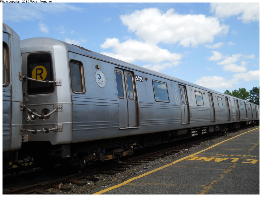 (236k, 1044x788)<br><b>Country:</b> United States<br><b>City:</b> New York<br><b>System:</b> New York City Transit<br><b>Location:</b> Jamaica Yard/Shops<br><b>Car:</b> R-46 (Pullman-Standard, 1974-75) 5484 <br><b>Photo by:</b> Robert Mencher<br><b>Date:</b> 5/15/2010<br><b>Viewed (this week/total):</b> 0 / 972