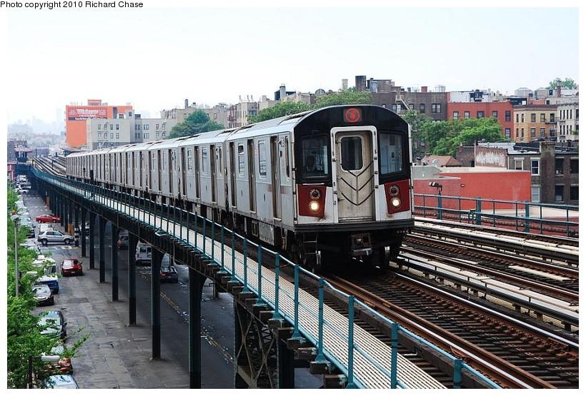 (161k, 820x555)<br><b>Country:</b> United States<br><b>City:</b> New York<br><b>System:</b> New York City Transit<br><b>Line:</b> IRT Woodlawn Line<br><b>Location:</b> Fordham Road <br><b>Route:</b> 4<br><b>Car:</b> R-142 or R-142A (Number Unknown)  <br><b>Photo by:</b> Richard Chase<br><b>Date:</b> 5/8/2010<br><b>Viewed (this week/total):</b> 2 / 1224