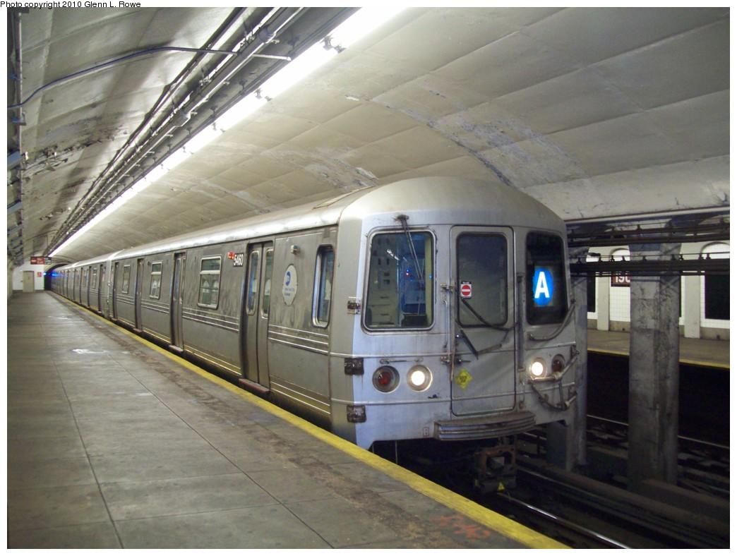 (201k, 1044x788)<br><b>Country:</b> United States<br><b>City:</b> New York<br><b>System:</b> New York City Transit<br><b>Line:</b> IND 8th Avenue Line<br><b>Location:</b> 190th Street/Overlook Terrace <br><b>Route:</b> A<br><b>Car:</b> R-44 (St. Louis, 1971-73) 5460 <br><b>Photo by:</b> Glenn L. Rowe<br><b>Date:</b> 5/27/2010<br><b>Viewed (this week/total):</b> 3 / 1191