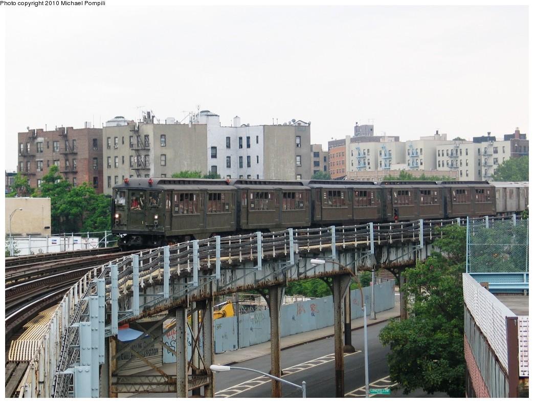 (232k, 1044x788)<br><b>Country:</b> United States<br><b>City:</b> New York<br><b>System:</b> New York City Transit<br><b>Line:</b> IRT White Plains Road Line<br><b>Location:</b> West Farms Sq./East Tremont Ave./177th St. <br><b>Route:</b> Fan Trip<br><b>Car:</b> Low-V (Museum Train) 5292 <br><b>Photo by:</b> Michael Pompili<br><b>Date:</b> 6/6/2010<br><b>Viewed (this week/total):</b> 5 / 1696