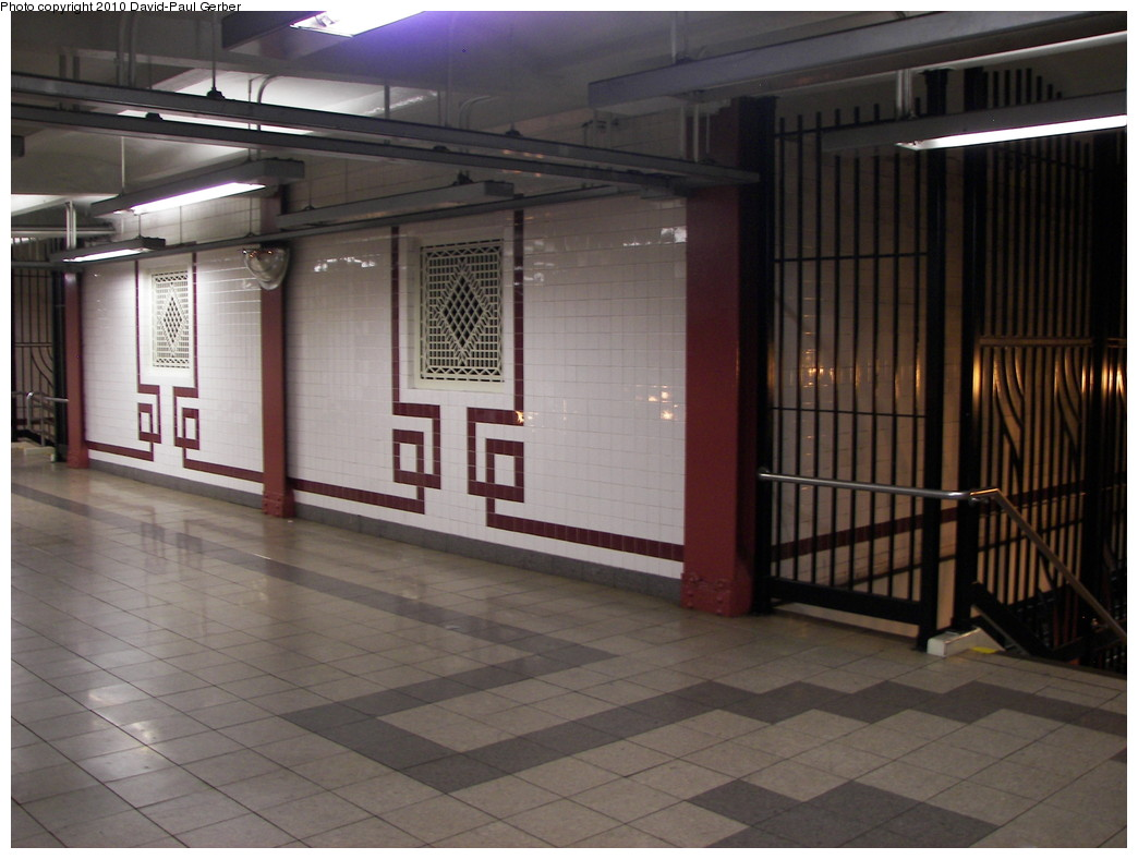 (237k, 1044x788)<br><b>Country:</b> United States<br><b>City:</b> New York<br><b>System:</b> New York City Transit<br><b>Line:</b> IND Fulton Street Line<br><b>Location:</b> Utica Avenue <br><b>Photo by:</b> David-Paul Gerber<br><b>Date:</b> 4/17/2010<br><b>Notes:</b> This area would have been a transfer passage to the never-built Utica Ave IND Second System subway line<br><b>Viewed (this week/total):</b> 2 / 1182
