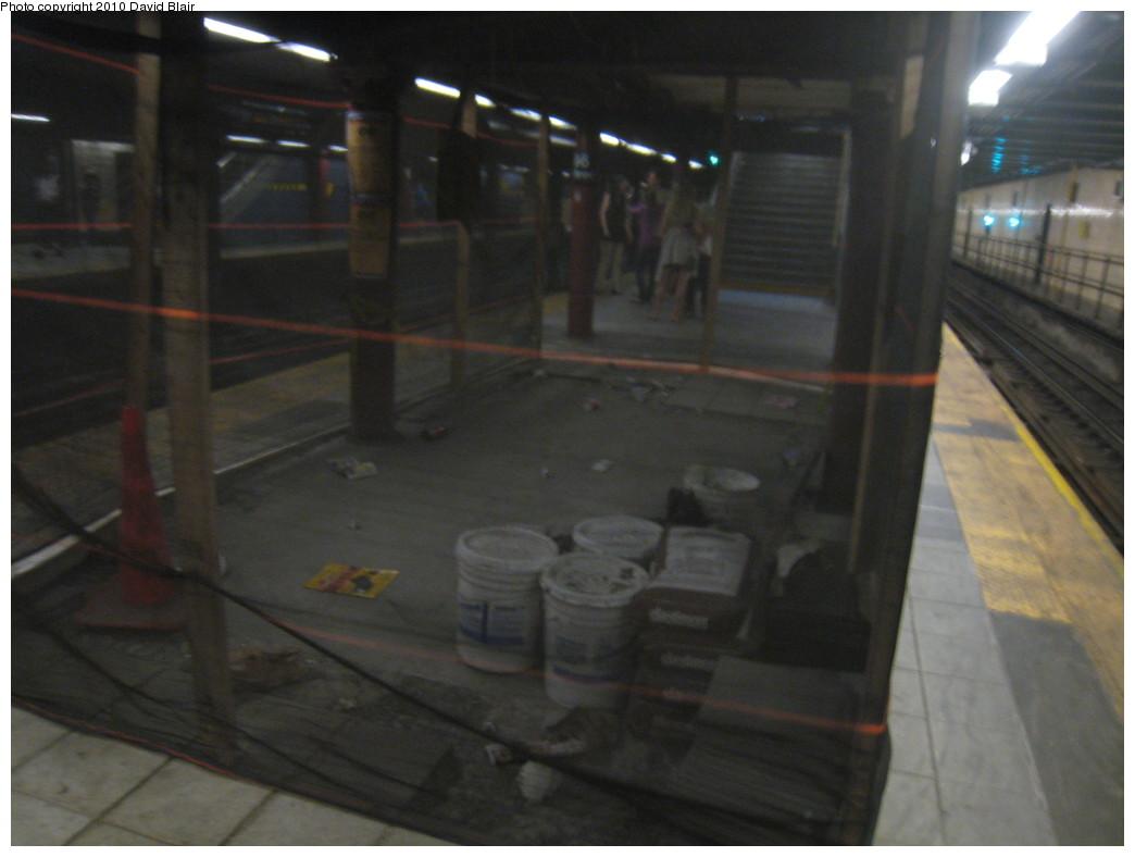 (153k, 1044x788)<br><b>Country:</b> United States<br><b>City:</b> New York<br><b>System:</b> New York City Transit<br><b>Line:</b> IRT West Side Line<br><b>Location:</b> 96th Street <br><b>Photo by:</b> David Blair<br><b>Date:</b> 5/30/2010<br><b>Notes:</b> Station renovations - former stairway to underpass.<br><b>Viewed (this week/total):</b> 0 / 1302