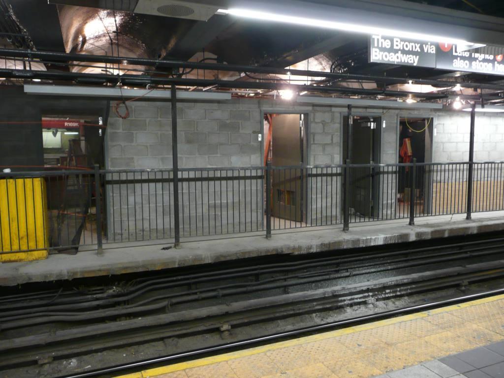(130k, 1024x768)<br><b>Country:</b> United States<br><b>City:</b> New York<br><b>System:</b> New York City Transit<br><b>Line:</b> IRT West Side Line<br><b>Location:</b> 96th Street <br><b>Photo by:</b> Robbie Rosenfeld<br><b>Date:</b> 5/5/2010<br><b>Notes:</b> Station renovations.<br><b>Viewed (this week/total):</b> 2 / 1305