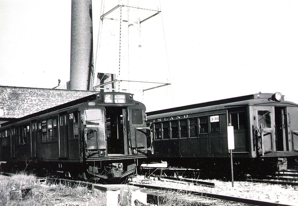 (188k, 1024x707)<br><b>Country:</b> United States<br><b>City:</b> New York<br><b>System:</b> New York City Transit<br><b>Location:</b> Coney Island Yard<br><b>Car:</b> R-1 (American Car & Foundry, 1930-1931) 240 <br><b>Collection of:</b> George Conrad Collection<br><b>Notes:</b> With Ex-Sirt 336<br><b>Viewed (this week/total):</b> 0 / 997