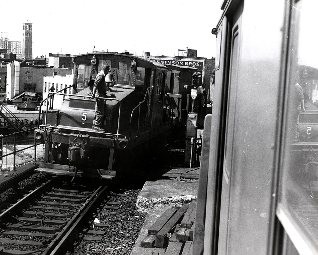 (235k, 1024x822)<br><b>Country:</b> United States<br><b>City:</b> New York<br><b>System:</b> New York City Transit<br><b>Location:</b> Coney Island/Stillwell Avenue<br><b>Car:</b> SBK Steeplecab 5 <br><b>Collection of:</b> George Conrad Collection<br><b>Date:</b> 9/11/1969<br><b>Viewed (this week/total):</b> 0 / 1512