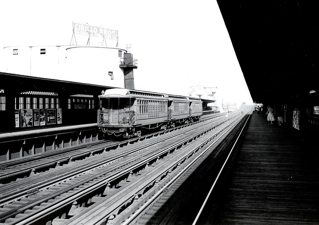 (184k, 1024x724)<br><b>Country:</b> United States<br><b>City:</b> New York<br><b>System:</b> New York City Transit<br><b>Line:</b> BMT Culver Line<br><b>Location:</b> 13th Avenue <br><b>Car:</b> BMT Elevated Gate Car 1378 <br><b>Collection of:</b> George Conrad Collection<br><b>Viewed (this week/total):</b> 3 / 2100