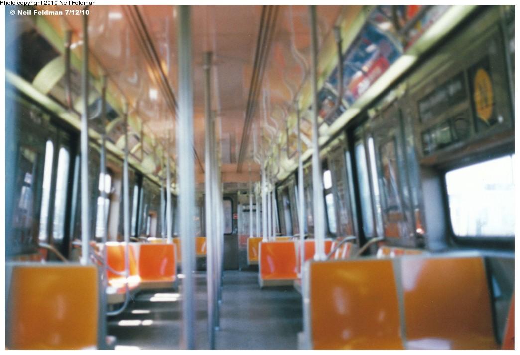 (152k, 1044x713)<br><b>Country:</b> United States<br><b>City:</b> New York<br><b>System:</b> New York City Transit<br><b>Route:</b> N<br><b>Car:</b> R-68 (Westinghouse-Amrail, 1986-1988)  2813 <br><b>Photo by:</b> Neil Feldman<br><b>Date:</b> 7/12/2010<br><b>Viewed (this week/total):</b> 1 / 987