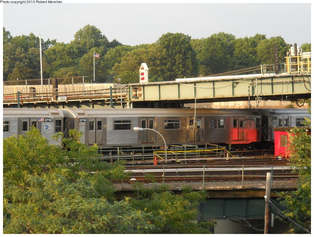 (348k, 1044x788)<br><b>Country:</b> United States<br><b>City:</b> New York<br><b>System:</b> New York City Transit<br><b>Location:</b> East New York Yard/Shops<br><b>Car:</b> R-32 (Budd, 1964)  3719 <br><b>Photo by:</b> Robert Mencher<br><b>Date:</b> 7/17/2010<br><b>Viewed (this week/total):</b> 4 / 877