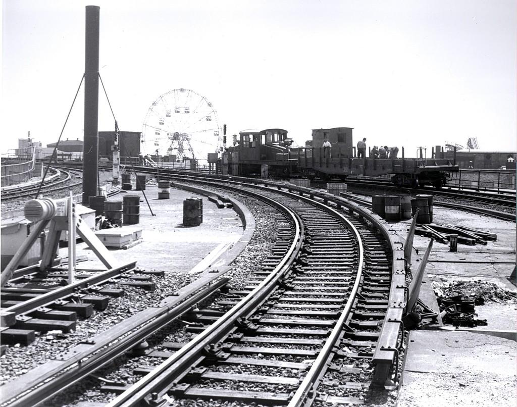 (249k, 1024x806)<br><b>Country:</b> United States<br><b>City:</b> New York<br><b>System:</b> New York City Transit<br><b>Location:</b> Coney Island/Stillwell Avenue<br><b>Car:</b> SBK Steeplecab 5 <br><b>Collection of:</b> George Conrad Collection<br><b>Date:</b> 9/11/1969<br><b>Viewed (this week/total):</b> 2 / 2121