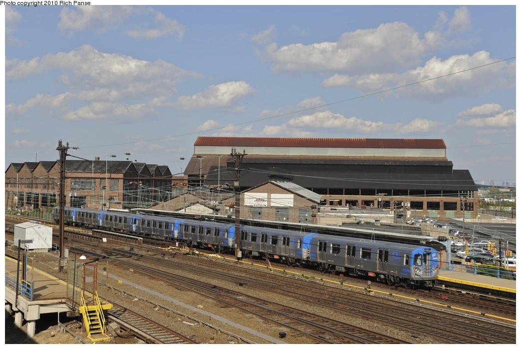 (202k, 1044x701)<br><b>Country:</b> United States<br><b>City:</b> Harrison, NJ<br><b>System:</b> PATH<br><b>Location:</b> Harrison <br><b>Car:</b> PATH PA-5 (Kawasaki, 2009-2011) 5644 <br><b>Photo by:</b> Richard Panse<br><b>Date:</b> 7/26/2010<br><b>Viewed (this week/total):</b> 2 / 1418
