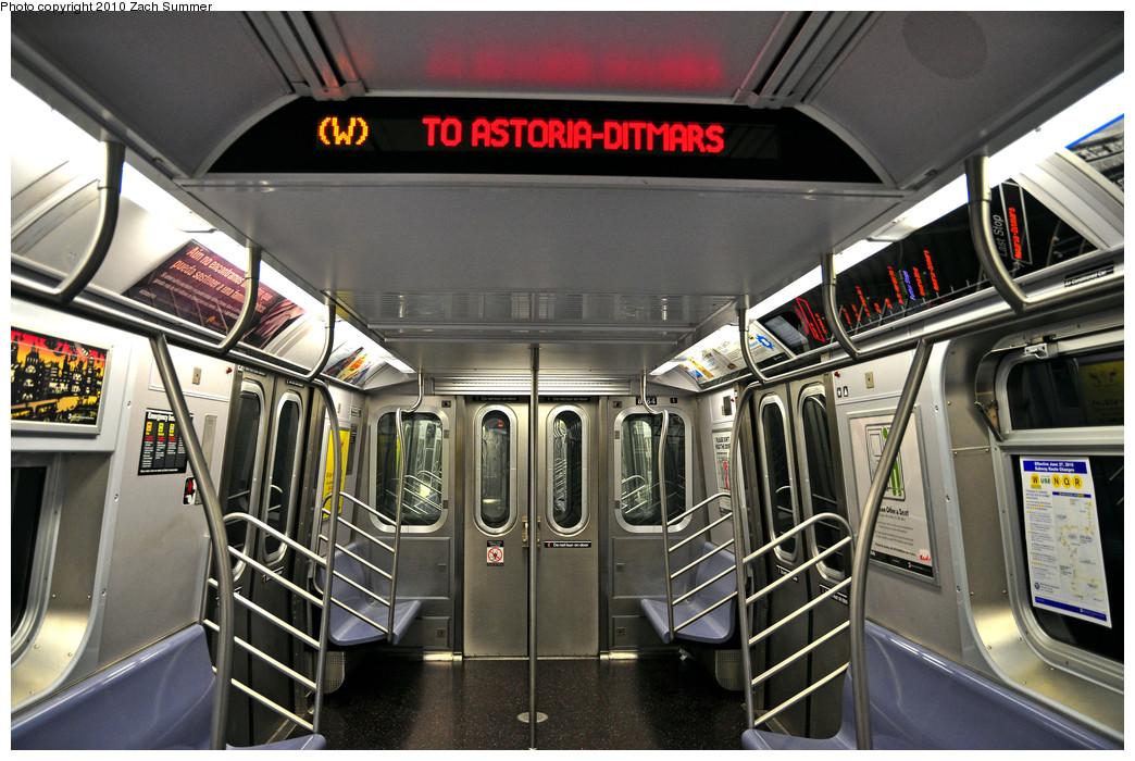 (281k, 1044x700)<br><b>Country:</b> United States<br><b>City:</b> New York<br><b>System:</b> New York City Transit<br><b>Route:</b> W<br><b>Car:</b> R-160B (Kawasaki, 2005-2008)  8864 <br><b>Photo by:</b> Zach Summer<br><b>Date:</b> 6/25/2010<br><b>Notes:</b> Last Day of W Service<br><b>Viewed (this week/total):</b> 0 / 1229