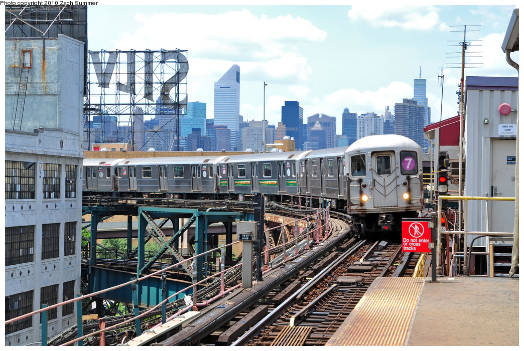 (347k, 1044x700)<br><b>Country:</b> United States<br><b>City:</b> New York<br><b>System:</b> New York City Transit<br><b>Line:</b> IRT Flushing Line<br><b>Location:</b> Queensborough Plaza <br><b>Route:</b> 7<br><b>Car:</b> R-62A (Bombardier, 1984-1987)  2044 <br><b>Photo by:</b> Zach Summer<br><b>Date:</b> 6/25/2010<br><b>Viewed (this week/total):</b> 2 / 1241