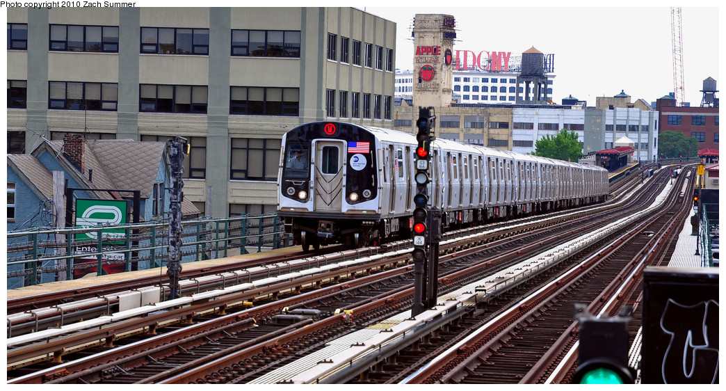 (286k, 1044x562)<br><b>Country:</b> United States<br><b>City:</b> New York<br><b>System:</b> New York City Transit<br><b>Line:</b> BMT Astoria Line<br><b>Location:</b> 36th/Washington Aves. <br><b>Route:</b> W<br><b>Car:</b> R-160A-2 (Alstom, 2005-2008, 5 car sets)  8703 <br><b>Photo by:</b> Zach Summer<br><b>Date:</b> 6/25/2010<br><b>Notes:</b> Last Day of W Service<br><b>Viewed (this week/total):</b> 1 / 1365