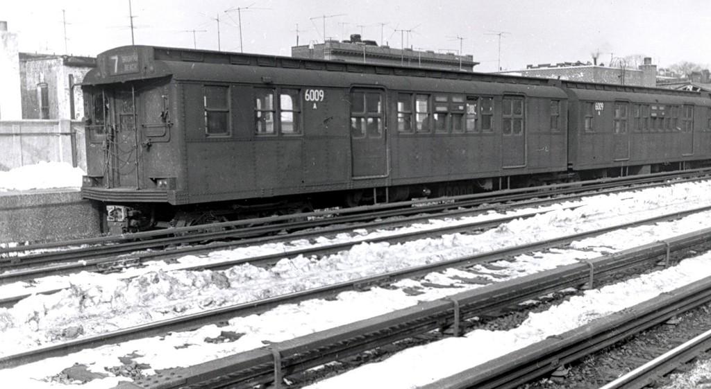 (151k, 1024x561)<br><b>Country:</b> United States<br><b>City:</b> New York<br><b>System:</b> New York City Transit<br><b>Line:</b> BMT Brighton Line<br><b>Location:</b> Avenue J <br><b>Car:</b> BMT D-Type Triplex 6009 <br><b>Collection of:</b> George Conrad Collection<br><b>Date:</b> 2/10/1961<br><b>Viewed (this week/total):</b> 0 / 2747
