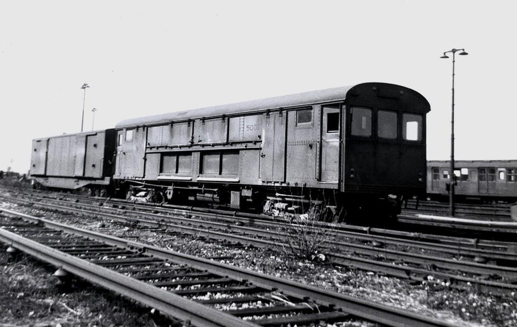 (154k, 1024x648)<br><b>Country:</b> United States<br><b>City:</b> New York<br><b>System:</b> New York City Transit<br><b>Location:</b> Coney Island Yard<br><b>Car:</b> Rubbish Collection Car (ACF, 1918)  5002 <br><b>Collection of:</b> George Conrad Collection<br><b>Viewed (this week/total):</b> 1 / 965