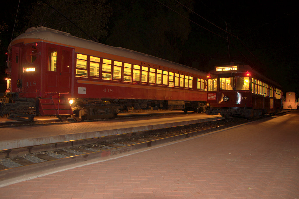 (152k, 1024x682)<br><b>Country:</b> United States<br><b>City:</b> Perris, CA<br><b>System:</b> Orange Empire Railway Museum <br><b>Car:</b>  418 <br><b>Photo by:</b> Jeremy Whiteman<br><b>Date:</b> 8/1/2010<br><b>Viewed (this week/total):</b> 0 / 880