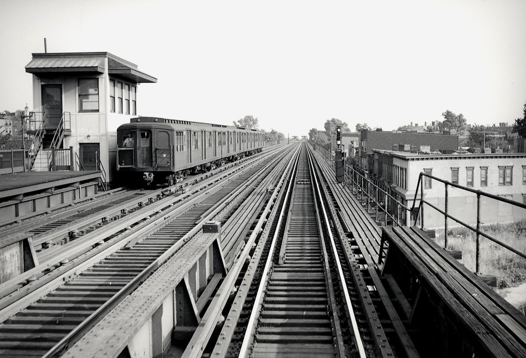 (203k, 1024x698)<br><b>Country:</b> United States<br><b>City:</b> New York<br><b>System:</b> New York City Transit<br><b>Line:</b> BMT Culver Line<br><b>Location:</b> Ditmas Avenue <br><b>Car:</b> BMT A/B-Type Standard  <br><b>Collection of:</b> George Conrad Collection<br><b>Viewed (this week/total):</b> 2 / 1520