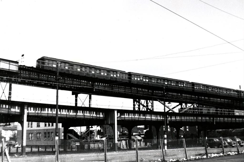 (147k, 1024x681)<br><b>Country:</b> United States<br><b>City:</b> New York<br><b>System:</b> New York City Transit<br><b>Line:</b> BMT Brighton Line<br><b>Location:</b> West 8th Street <br><b>Car:</b> BMT A/B-Type Standard  <br><b>Collection of:</b> George Conrad Collection<br><b>Viewed (this week/total):</b> 4 / 2033