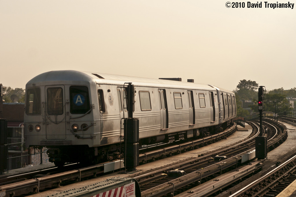 (197k, 1024x683)<br><b>Country:</b> United States<br><b>City:</b> New York<br><b>System:</b> New York City Transit<br><b>Line:</b> IND Fulton Street Line<br><b>Location:</b> 80th Street/Hudson Street <br><b>Route:</b> A<br><b>Car:</b> R-46 (Pullman-Standard, 1974-75) 6038 <br><b>Photo by:</b> David Tropiansky<br><b>Date:</b> 7/16/2010<br><b>Viewed (this week/total):</b> 4 / 925
