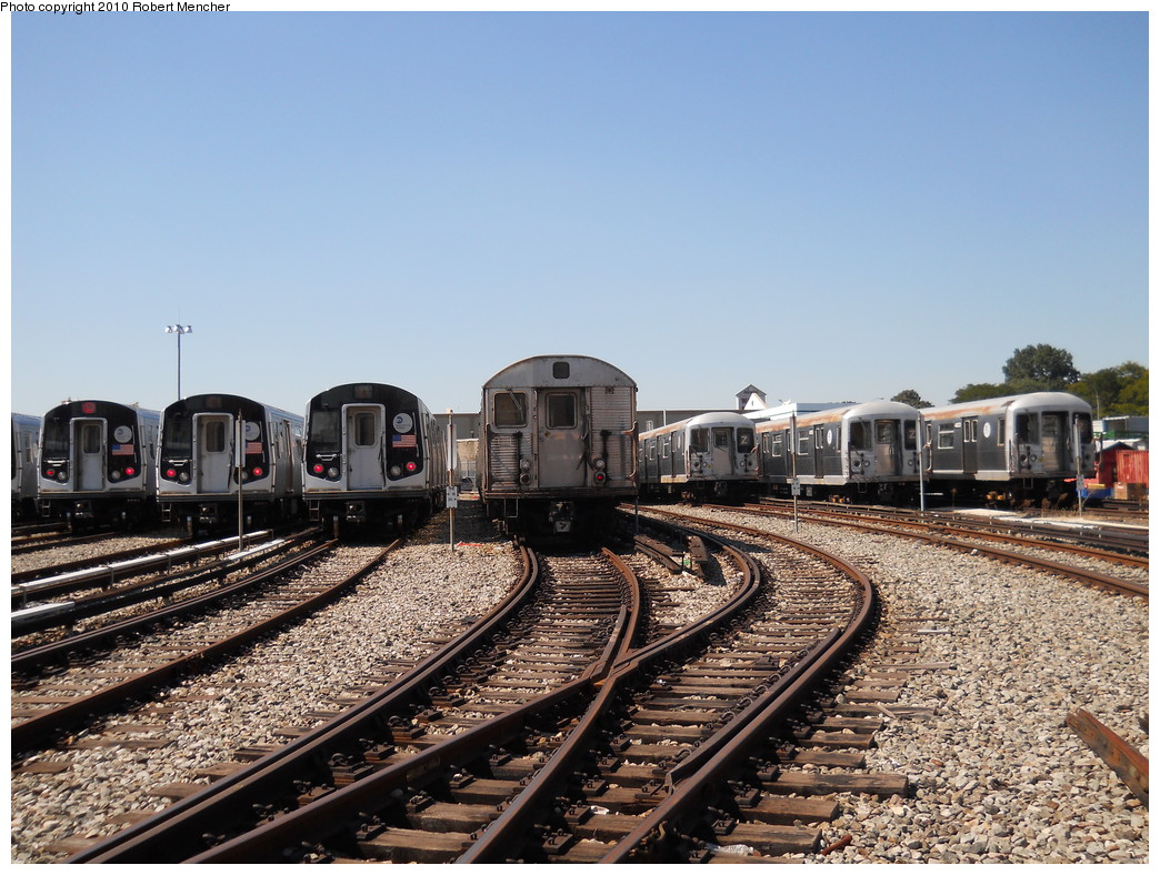 (313k, 1044x788)<br><b>Country:</b> United States<br><b>City:</b> New York<br><b>System:</b> New York City Transit<br><b>Location:</b> East New York Yard/Shops<br><b>Photo by:</b> Robert Mencher<br><b>Date:</b> 8/30/2010<br><b>Viewed (this week/total):</b> 0 / 1964