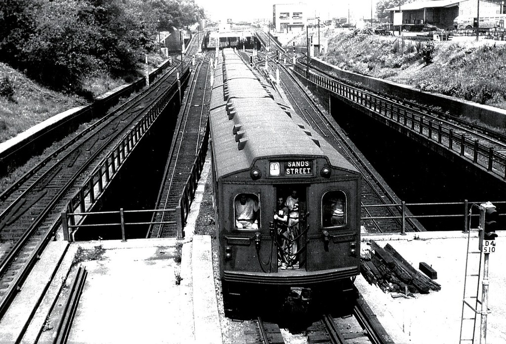 (283k, 1024x696)<br><b>Country:</b> United States<br><b>City:</b> New York<br><b>System:</b> New York City Transit<br><b>Line:</b> BMT West End Line<br><b>Location:</b> 9th Avenue <br><b>Route:</b> Fan Trip<br><b>Car:</b> BMT Multi  <br><b>Collection of:</b> George Conrad Collection<br><b>Viewed (this week/total):</b> 1 / 1780