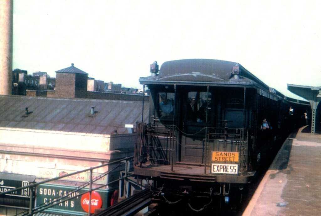 (138k, 1024x689)<br><b>Country:</b> United States<br><b>City:</b> New York<br><b>System:</b> New York City Transit<br><b>Line:</b> BMT Myrtle Avenue Line<br><b>Location:</b> Fresh Pond Road <br><b>Route:</b> Fan Trip<br><b>Car:</b> BMT Elevated Gate Car  <br><b>Collection of:</b> George Conrad Collection<br><b>Viewed (this week/total):</b> 3 / 2044