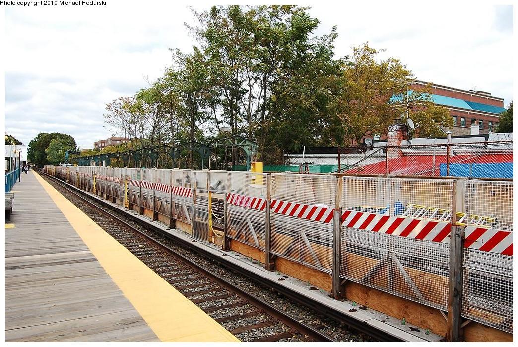 (354k, 1044x699)<br><b>Country:</b> United States<br><b>City:</b> New York<br><b>System:</b> New York City Transit<br><b>Line:</b> BMT Brighton Line<br><b>Location:</b> Avenue J <br><b>Photo by:</b> Michael Hodurski<br><b>Date:</b> 10/15/2010<br><b>Viewed (this week/total):</b> 0 / 706